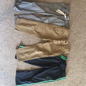 Bundle of 3T toddler boy pants